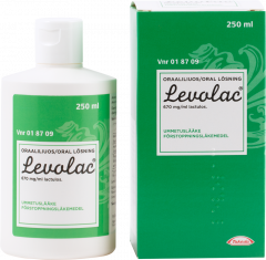 LEVOLAC 670 mg/ml oraaliliuos 250 ml