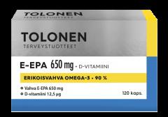 TRI TOLONEN E-EPA 650MG 120 KAPS